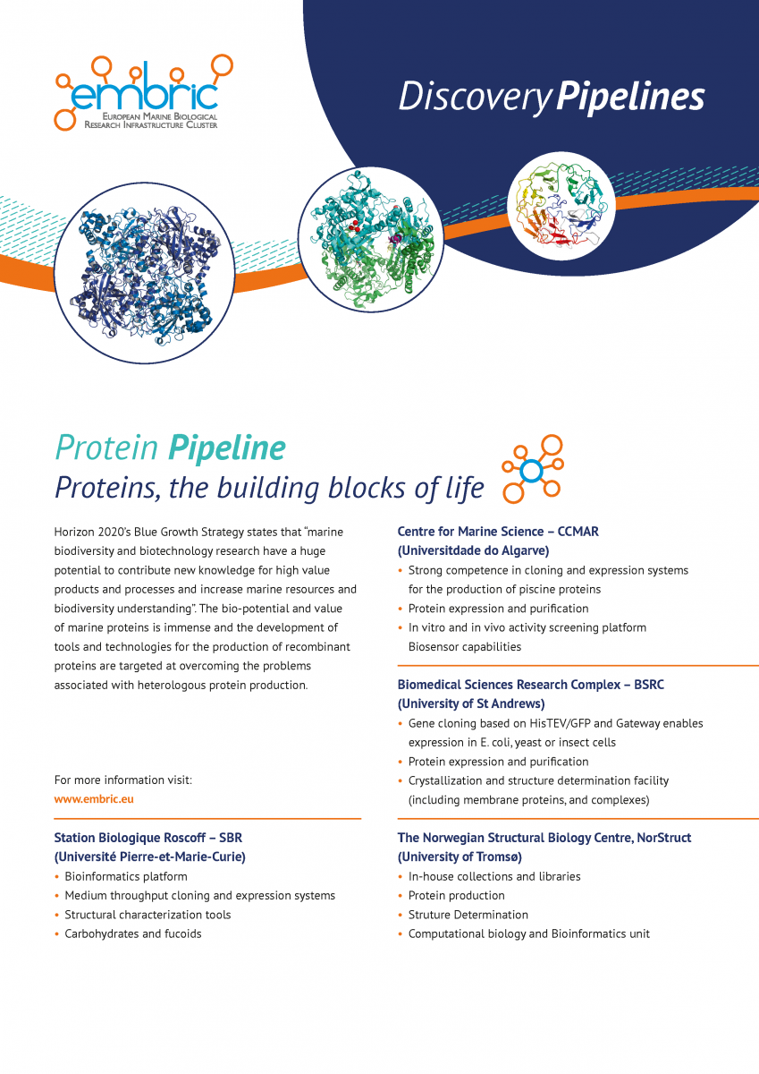 EMBRIC Protein pipeline