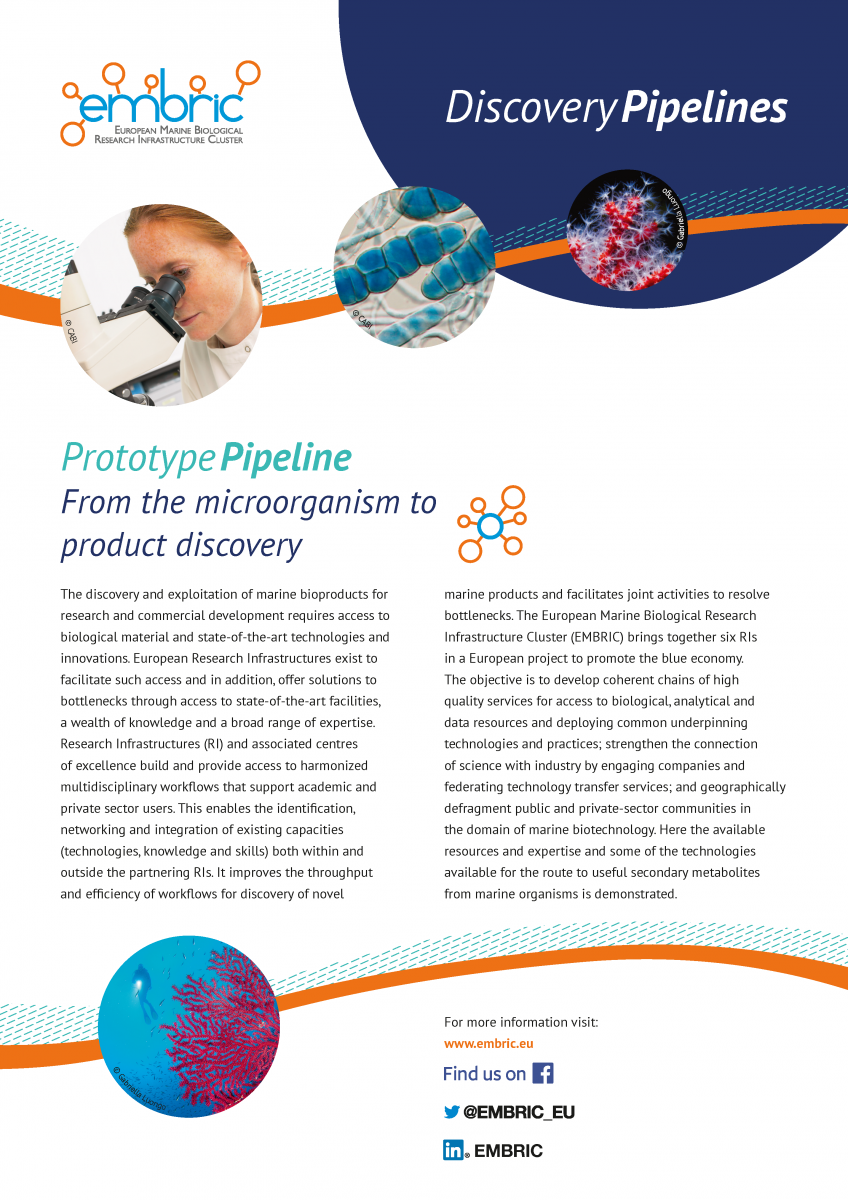 EMBRIC Prototype pipeline